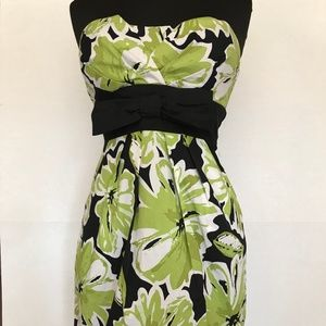 Speechless Strapless Belted Floral Dress, Junior 5
